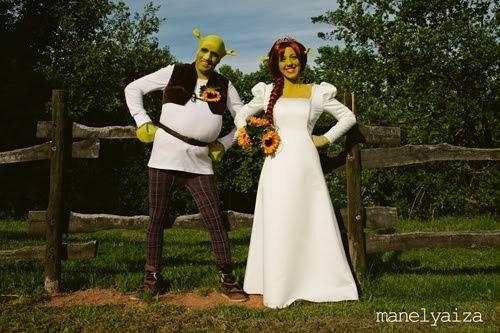 boda shrek y fiona