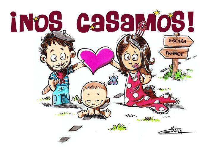 Matrimonio Catolico Caricatura : Que escribir como mensaje en la tarjeta de invitacíon