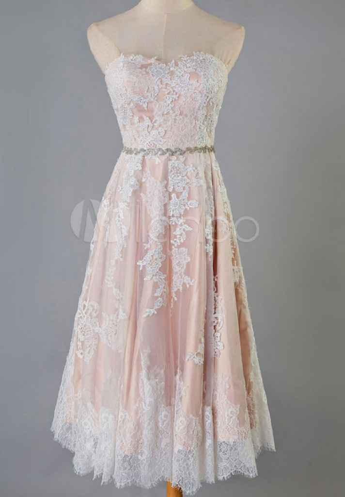 vestido de fiesta - 1