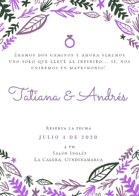 Save the date! - 3
