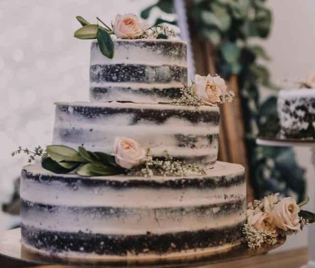 Pastel de bodas :)