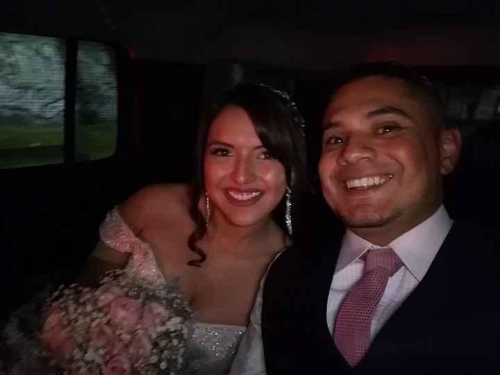 Recien casados :)