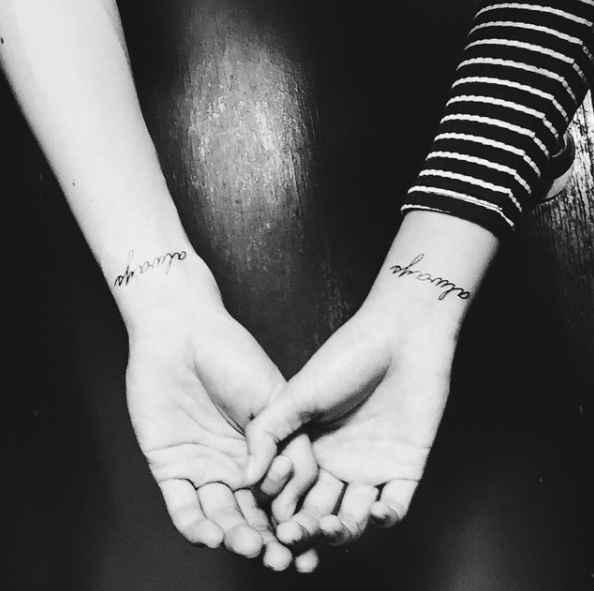 Los 5 tatuajes para parejas enamoradas más lindos de Instagram - 1