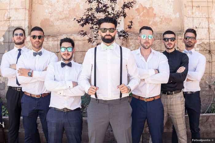 ¿Cuánto del presupuesto de matrimonio está destinado al look de novio? - 1