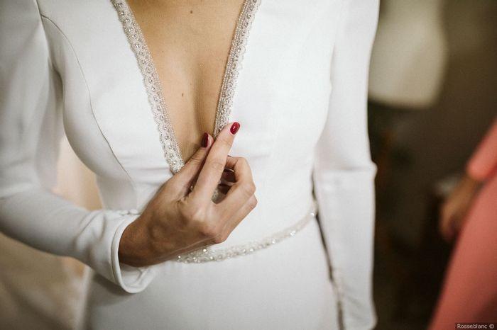 ¿Te gusta este ESCOTE para tu casamiento? 1