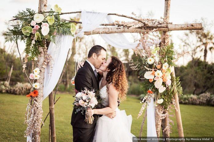 ¿Te gusta este ALTAR para tu matrimonio? 2