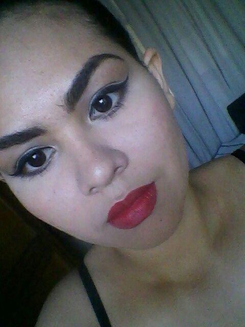Maquillaje opcion 2 y 3 - 4