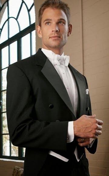 Resultado de imagen para trajes corbata blanca