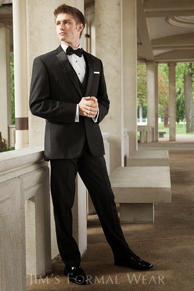 Vestido gris corbata negra