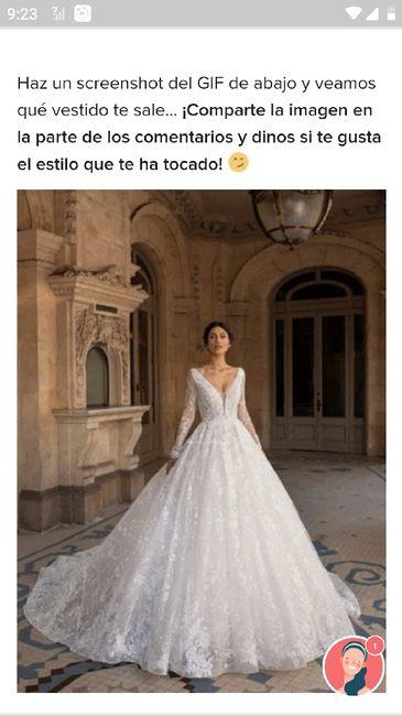 Descubre tu vestido... 20