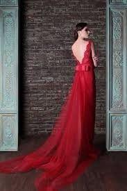 vestido de novio con rojo