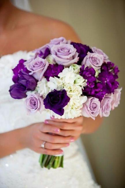 boda color morado