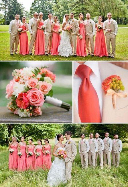 boda color coral
