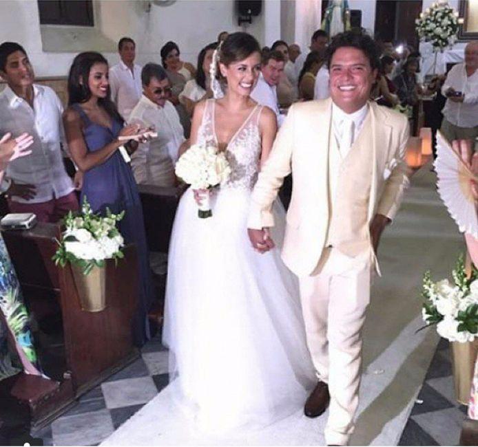 Matrimonio Catolico Laura Tobon : Milena lópez y andrés ardila