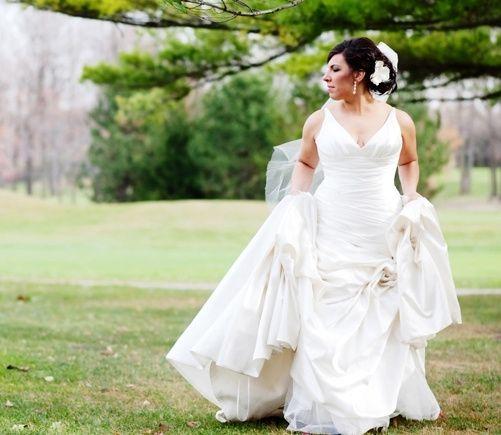 Vestidos de novia para tallas medianas