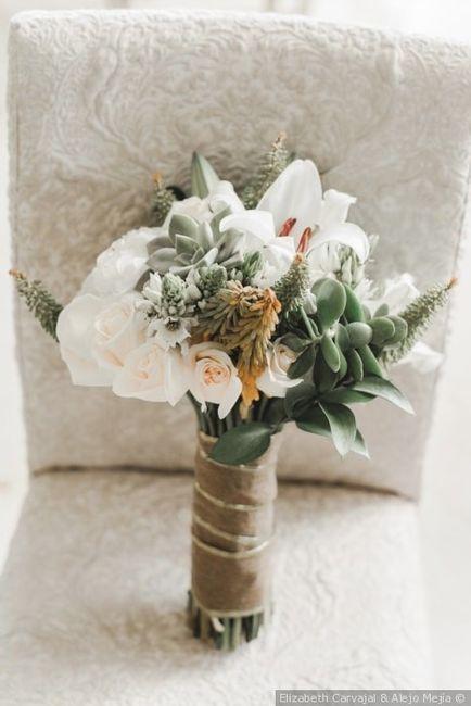 ¿Cómo quieren su bouquet de novia? 12
