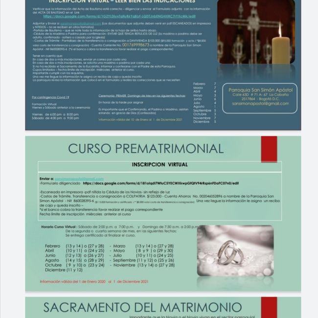Curso prematrimonial!! 1