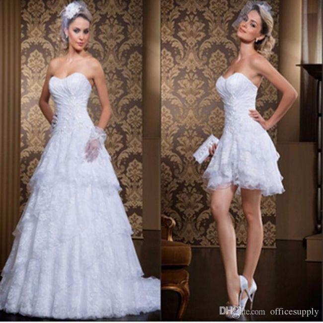 vestidos de novia desmontable!!