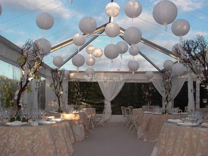 Ideas para decorar el techo en tu boda foro organizar - Decorar el techo ...