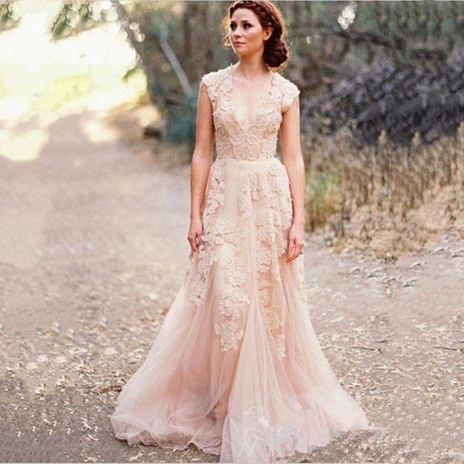 vestidos boda estilo shabby chic