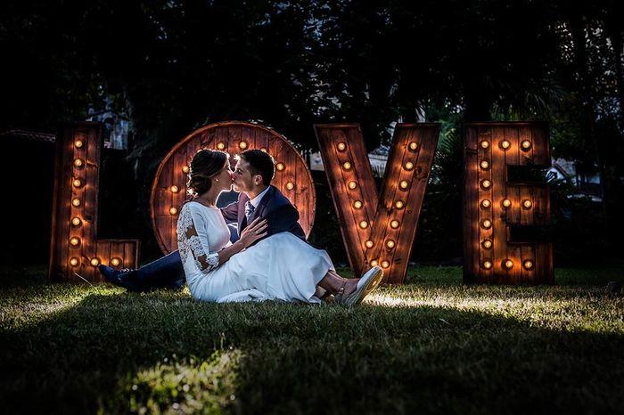 ¿Fotos de la boda de día o de noche? 1