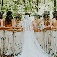 ¿De qué color se vestirán tus damas de honor?