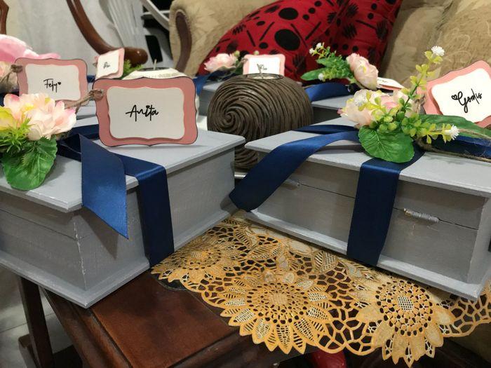 Mis cajas para las damas de honor 1