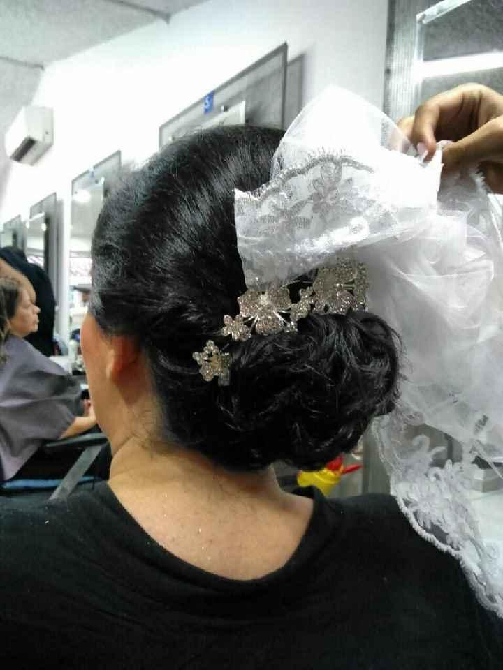 ¿Llevarías este peinado de novia? - 1
