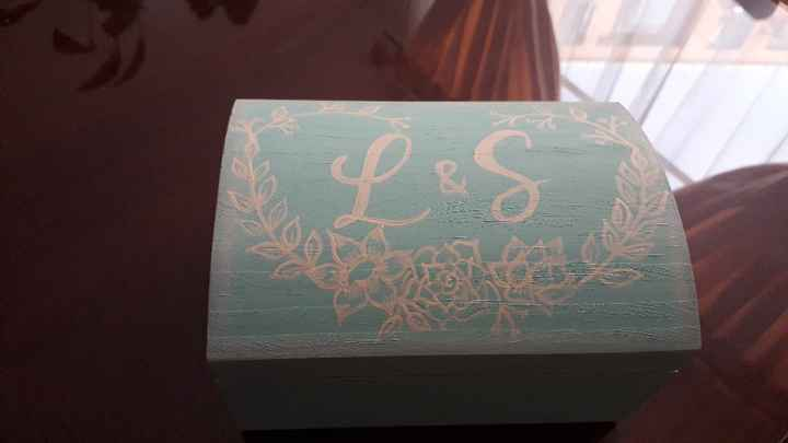 Ideas de porta argollas para la boda - 1