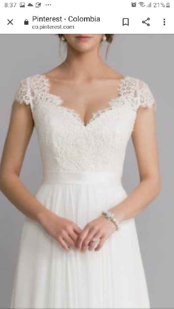 Mi vestido de novia+ leidy❤ - 1