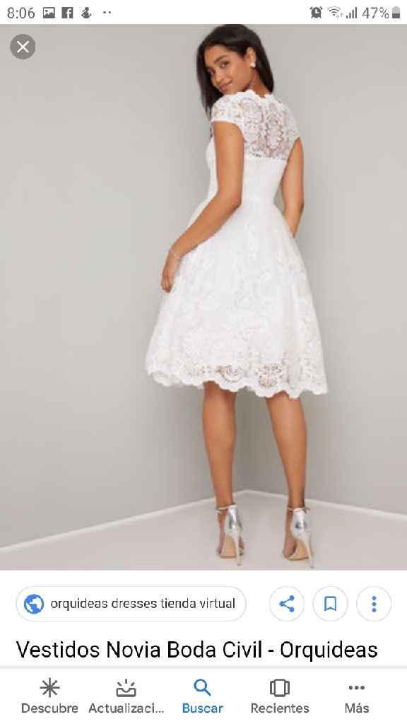 Mi vestido de novia+ leidy❤ - 3