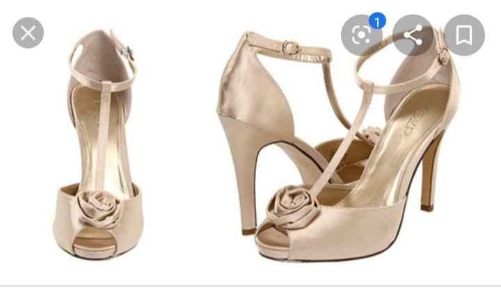 Zapatos para el vestido - 1