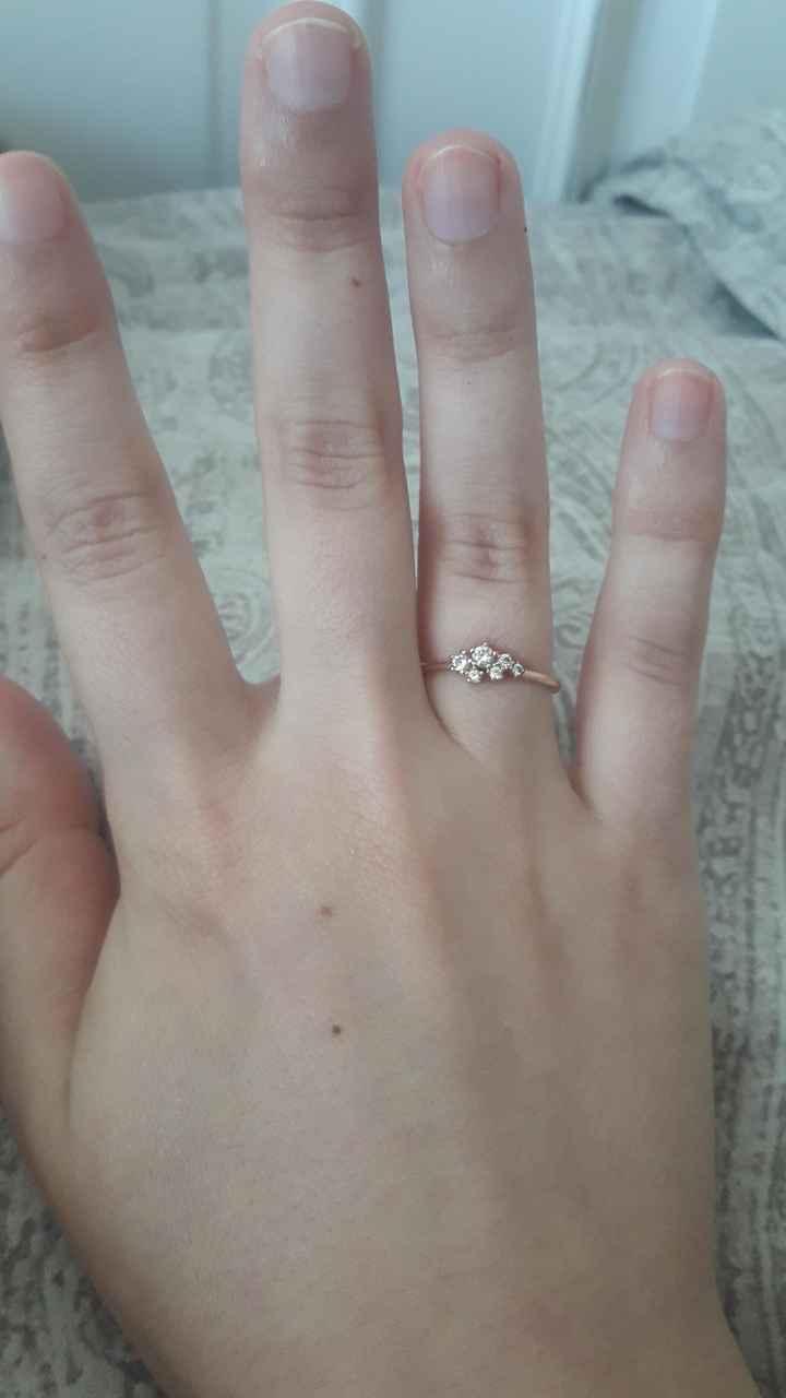 ¿De qué color es tu anillo de compromiso? 4