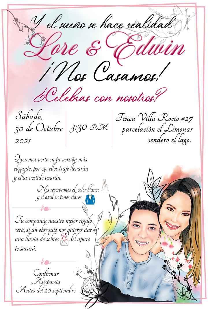 Listas las invitaciones... y con nuestro sello personal!! - 5