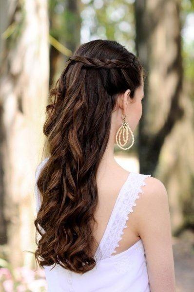 Novia de día vs Novia de noche: El peinado 1