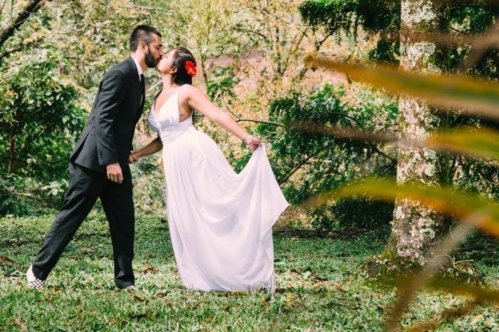 ¿Dónde están las novias que quieren un matrimonio al aire libre? 1