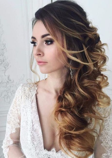 Tendencia peinados novia 2019