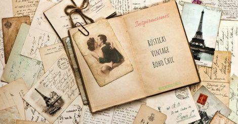 Inspiraciones Rústicas/Vintage: ¡Enamórate de 1! 🧡 1