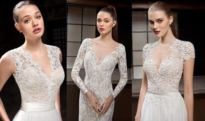 Los 360º del look de novia de la semana • ¿Cuál tiene más puntos? • 1