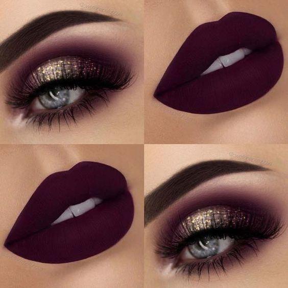 Maquillaje Para Vestido Vinotinto Unpasticheorg Ideas