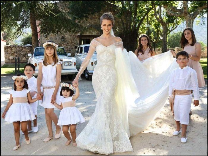 ¿Van a haber niños en tu matrimonio? 1