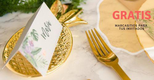 Llévate GRATIS 'Marcasitios' para tus invitados 🎁 1
