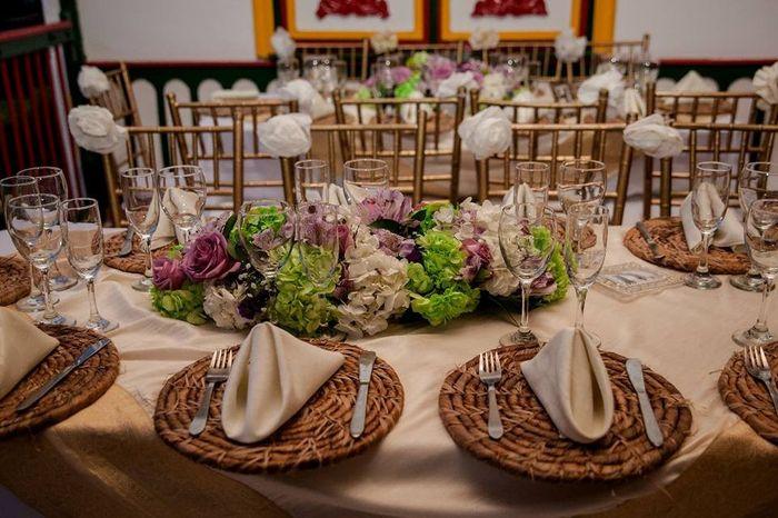 Banquete: ¿Rústico o moderno? 1