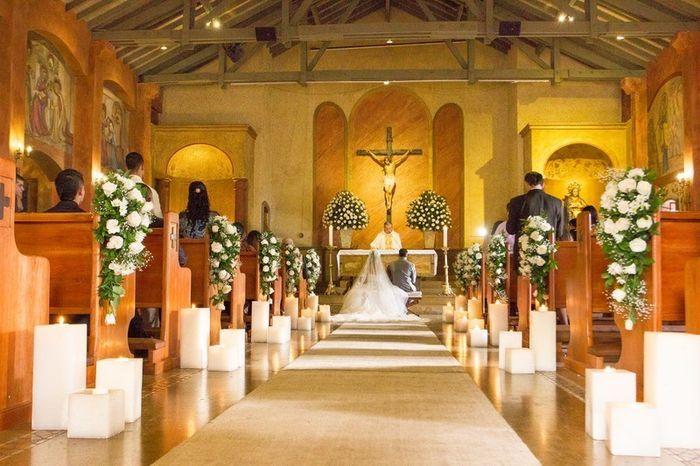 Camino al altar: ¿Flores o velas? 2
