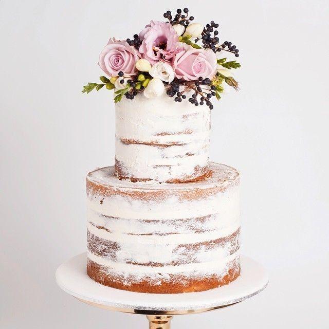 Lo último en tortas de casamiento: ¿A cuál no te podés resistir? 1