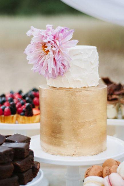 Lo último en tortas de casamiento: ¿A cuál no te podés resistir? 3