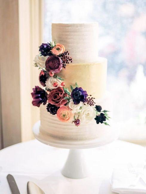 Lo último en tortas de casamiento: ¿A cuál no te podés resistir? 4