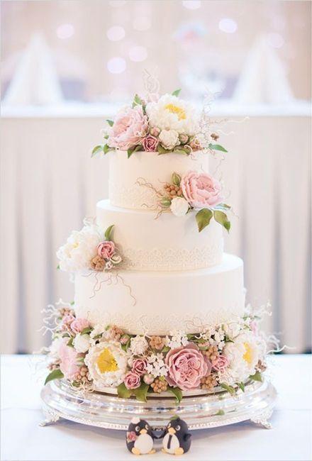 Lo último en tortas de casamiento: ¿A cuál no te podés resistir? 5