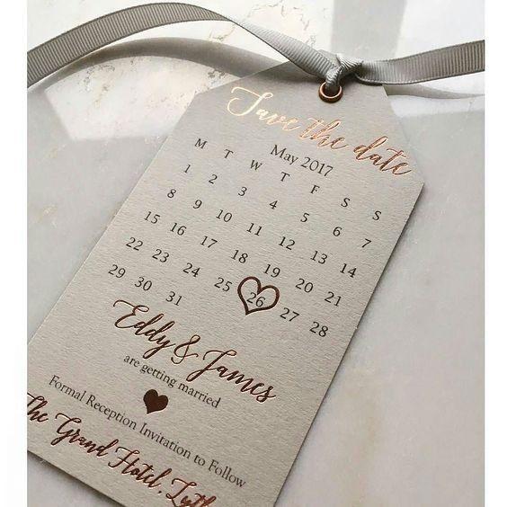 ¿A cuál de estos Save the Date le das una oportunidad? 5