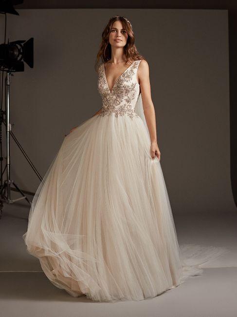 Vestido corte Princesa: ¿A o B? 2
